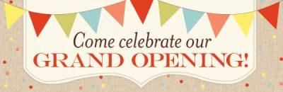 Grand Opening PartyOnStillwater Storefront