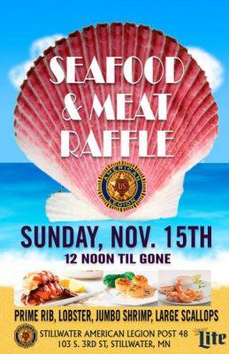 Seafood & Meat Raffle