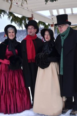 Victorian Caroling on the Corners