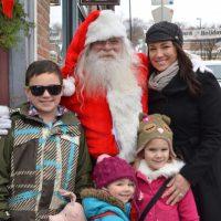 Strolling Santa