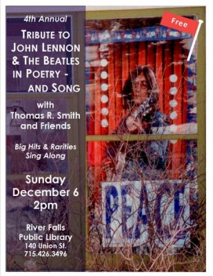 4th Annual Tribute to John Lennon and the Beatles in Poetry and Song