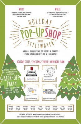 Holiday Pop-up Shop: Gifts and more from young adults of all abilities