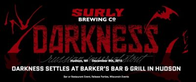 Darkness Settles at Barker's Bar & Grill in Hudson