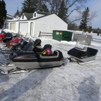 Stillwater Snowmobile Club Vintage Snowmobile Event
