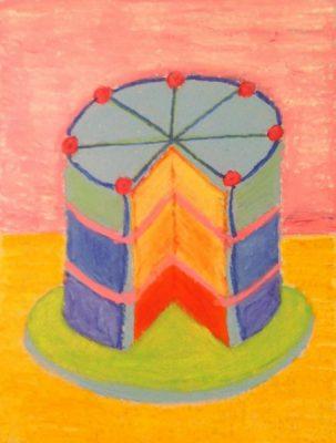 Artist Exploration: Thibaud Cake Drawings