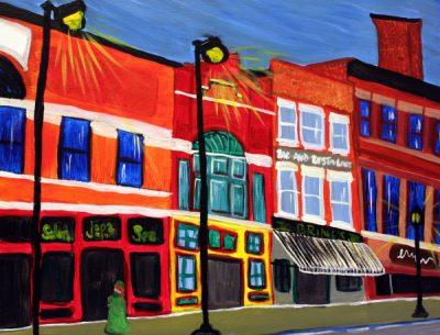 Paint-Sip-Nosh! | 'Main Street Stillwater' with Rachel