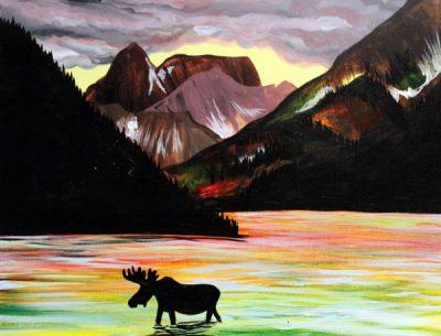 Paint-Sip-Nosh! | 'Northern Exposure' with Rhonda