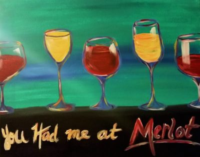 Paint-Sip-Nosh! | 'You Had Me At Merlot' with Rachel