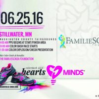 Color Dash 5k benefiting: The FamilieSCN2a Foundation