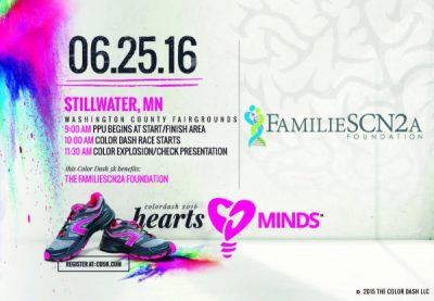 Color Dash 5k benefiting: The FamilieSCN2a Foundat...