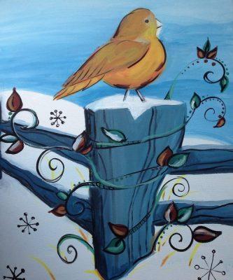 Paint-Sip-Nosh! | 'Happy Place'