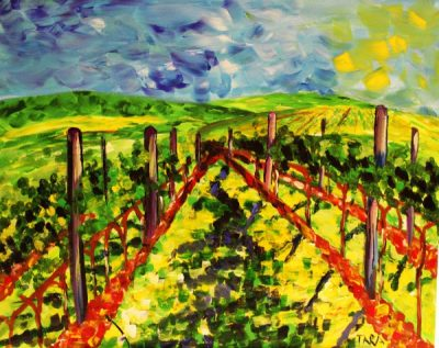 Paint-Sip-Nosh! | 'Vineyard'