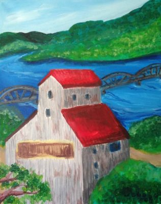 Paint-Sip-Nosh! | 'Stillwater Collection: Commander Mill'