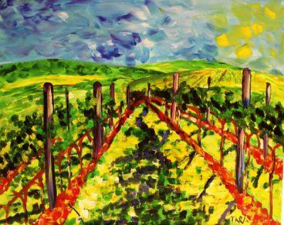Paint-Sip-Nosh! | 'Vineyard'