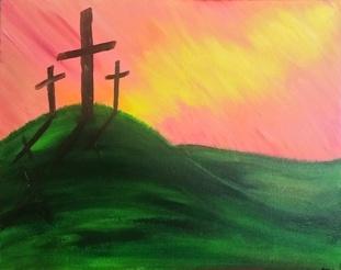 Paint-Sip-Nosh! | 'Crosses'