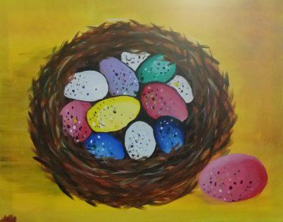 Paint-Sip-Nosh! | 'Spring Nest'