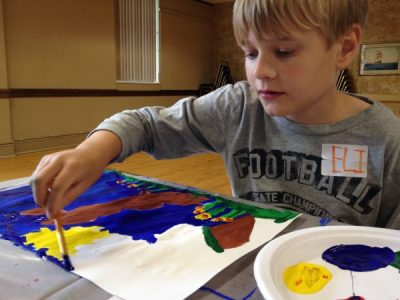 Painting the St. Croix National Riverway