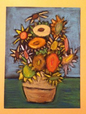 Artist Exploration: Van Gogh Sunflowers & Irises