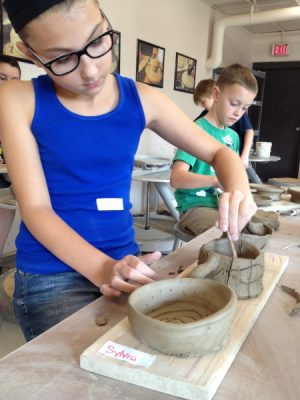 Teen Pottery on the Wheel - Ages 13+