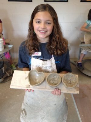 """After Hours"" - Pottery on the Wheel: Adult and Child Ages 7-12"