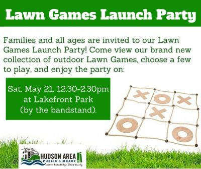 Lawn Games Launch Party