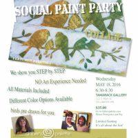 Social Paint Party