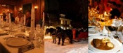 Sleigh Rides & Downton Abbey's Dinner