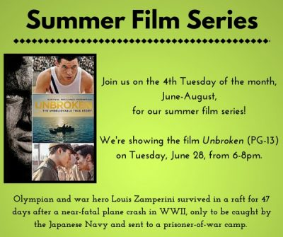 Summer Film Series for Adults