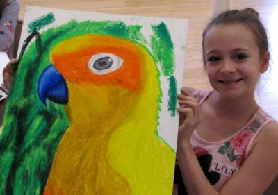 Beach Party Art Camp - Ages 5-11