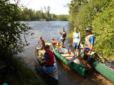 Namekagon Canoe Trip