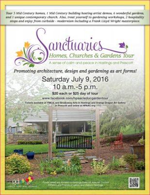 Sanctuaries: Homes, Churches and Gardens Tour 2016