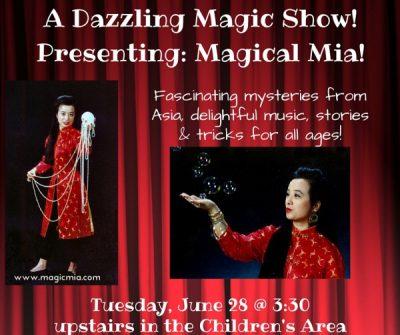 Magical Mia: A dazzling magic show!