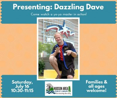 Presenting Dazzling Dave: yo-yo master