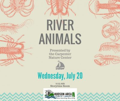 River Animals: presented by the Carpenter Nature Center