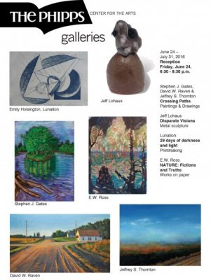 The Galleries: June 24 - July 31