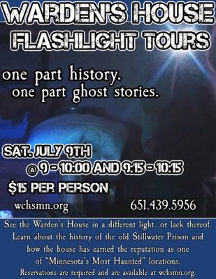Warden's House Flashlight Tours
