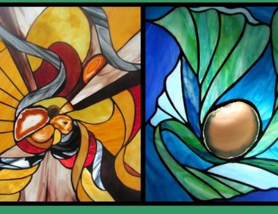 Natural Rhythm and Illumination Art Exhibit: Stained Glass by Steve King