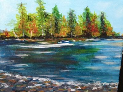 Paint-Sip-Nosh! | 'Lake of the Woods'