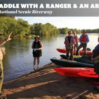 Paddle with a Ranger and an Artist: Sunset Reflections