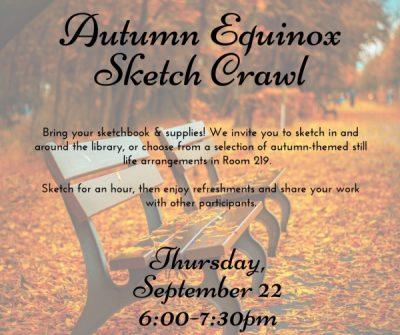 Autumn Equinox Sketch Crawl