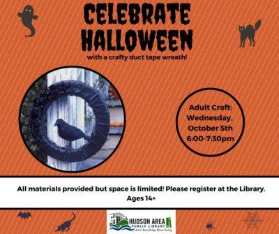Adult Craft: Halloween Wreath