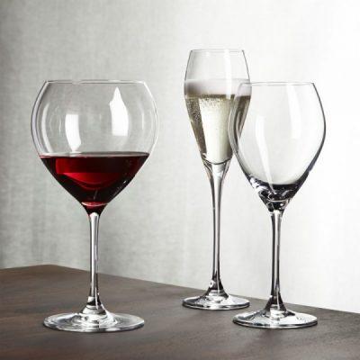 Painted Wine Glasses - Monograms