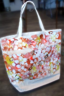 Paint-Sip-Nosh! | Fall Canvas Tote - Fabric Painting with Deb