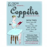St. Croix Ballet Presents Coppelia