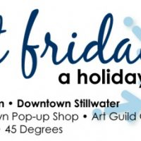 First Friday, a holiday art crawl
