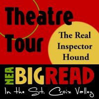 """""""The Real Inspector Hound"""" Theatre Tour at River Falls"""