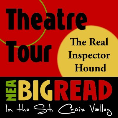 """""""The Real Inspector Hound"""" Theatre Tour at Bayport"""