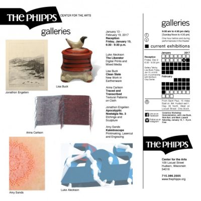The Galleries: January 13 - February 19