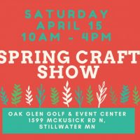 Spring Craft and Gift Show
