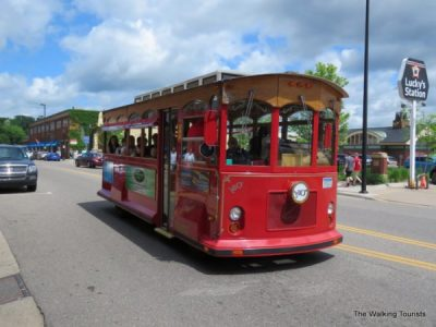 Earth Day Story Time Trolley